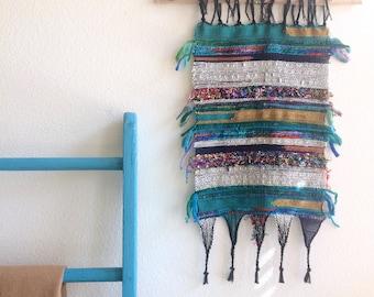 Gypsy handwoven wall hanging