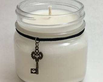 Unscented Soy Candle ~ 8oz jar