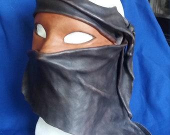 "Leather Mask ""Tuareg"""