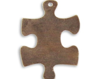 Vintaj 24mm Puzzle Piece (2)