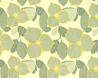 Cotton Fabric by the Yard - Amy Butler -- Midwest Modern Collection -- Optic Blossom Pattern