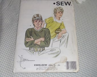 Vintage Kwik Sew Pattern #1280 Uncut and Unused Boy's Shirt