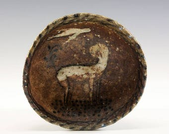 Wood Fired Pinch Bowl by Jenny Mendes - Bird and Puppy