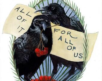 All Of It Print — Abacus Corvus