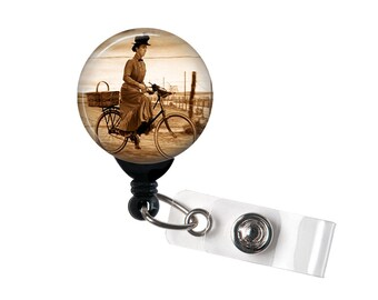 Miss Almira Gulch,Wizard of Oz, Retractable ID Badge Reel, The Wicked Witch
