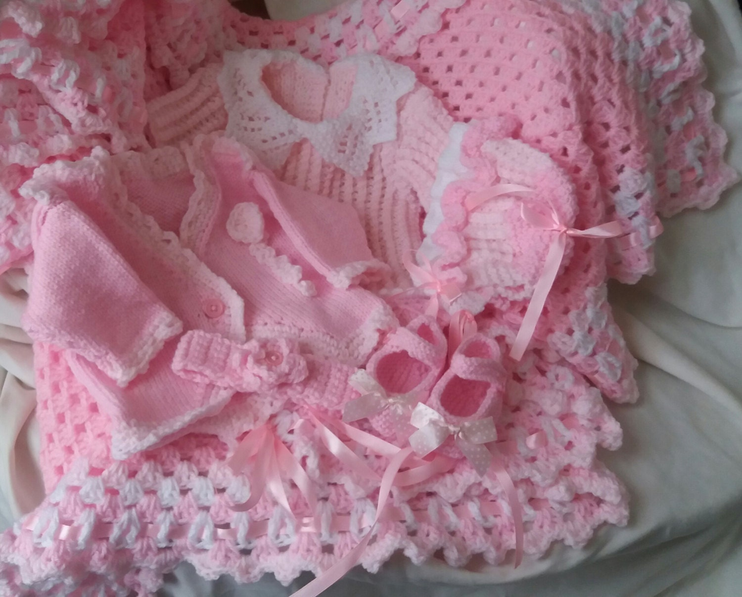 Old Fashioned Baby Layette Knitting Patterns Sketch - Sewing Pattern ...