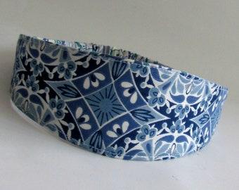 Headband Fabric headband,  Womens Headband, Adult Headband, Reversible Headband, headbands for women