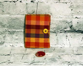 Tea purse, tea pocket, tea wallet, tea bag holder, can be personalised