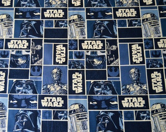 Star Wars Classic Character Squares Featuring Luke, Darth Vader, Yoda, R2D2, and C-3PO