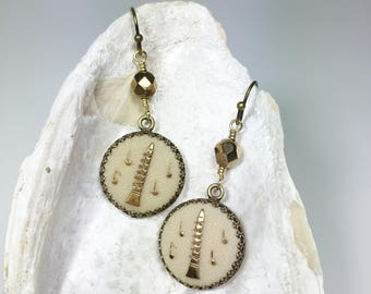 Eclectic Jewelry, Casual Earrings, Funky Jewelry, Music Gift for Her