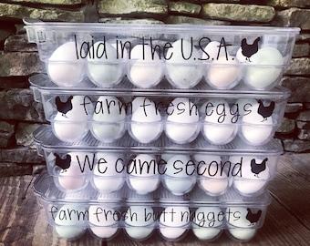 Funny Egg Cartons (Multiple Carton Sizes!)