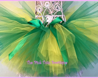 Green and Gold Tutu, Cake Smash Tutu, Girls Tutu, Baby Tutu, Photo Prop Tutu,  First Birthday Tutu, Toddler Tutu, Newborn Tutu, Tutu