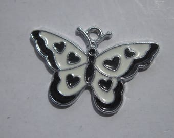 colorful (17) metal Butterfly charm