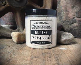 Butter Sugar Scrub - Sugar Scrub - Body Scrub - Butter Scrub - TayTaysSoap