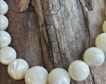Vintage Lucoral pearl necklace/vintage pearl necklace/vintage pearl necklace/wedding necklace/for the bride/bridal gifts/bridal jewelry