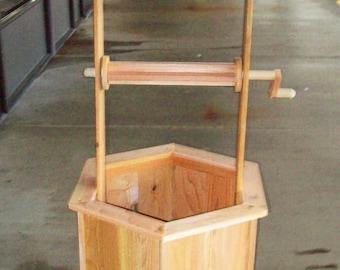 5' Cedar Wishing Well DIY Kit