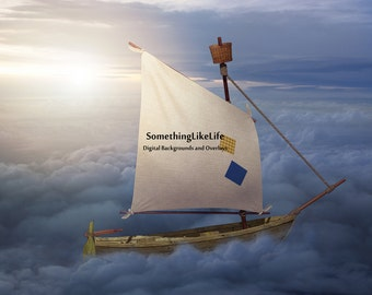 Sky Mariner ~ Sailboat ~ Sky ~ Clouds
