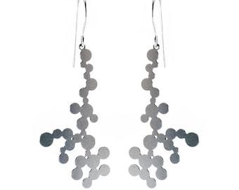 Dendrite Earrings (stainless steel)