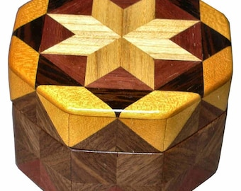 Boîte octogonale lumineux