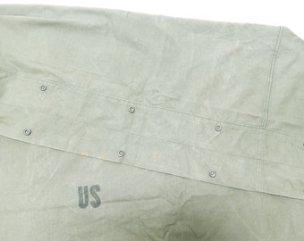 Olive Drab Military Canvas Duck Fabric