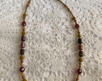 Gemstone Necklace/Beaded Necklace