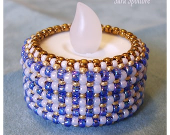 Beaded LED candle - IKEA Godafton beaded candle - Outdoor led light - Indoor decorative led light with batteries