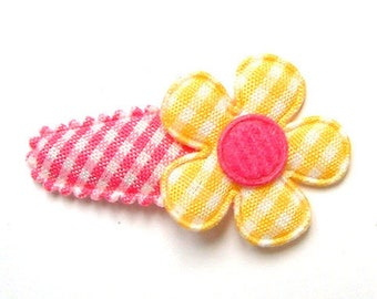 Hair Clip for Baby Girls in French Vichy