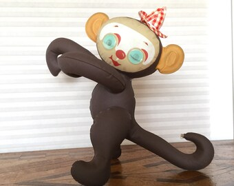 Vintage Blow Up Monkey