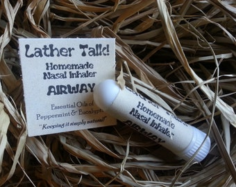 Aromatherapy Nasal Inhaler  (select your scent)