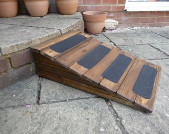 22cm High Back Door/Patio Door, Doggy Ramp Non-Slip