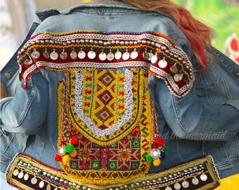 Custom Embroidered Denim Jacket
