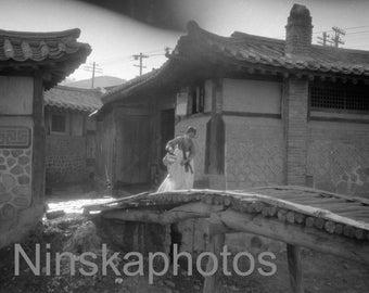 1920s Seoul, Korea, 1920s antique photo reprint, vintage photo, art photo, Korean History, Home Decor, Wall Decor