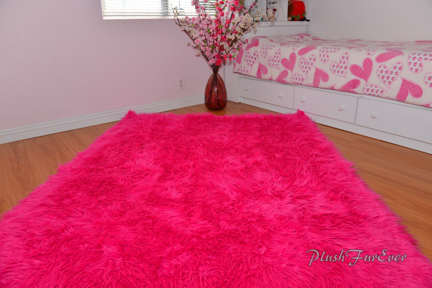 Rectangle Shaggy Throw Rug Baby Nursery Colors Sheepskins