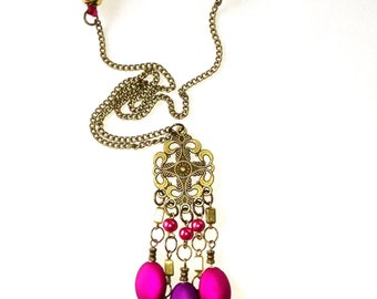 PREY Moroccan Sunset long necklace