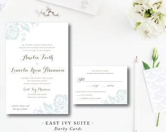 East Ivy Wedding Invitations