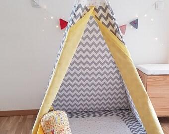 Teepee Tent For Kids, Teepee, Childrens Teepee, Kids Tent, Tipi, Kids Teepee, Teepee Tent, Teepee Tent Kids, Wigwam, Play Tent, Teepee Kids