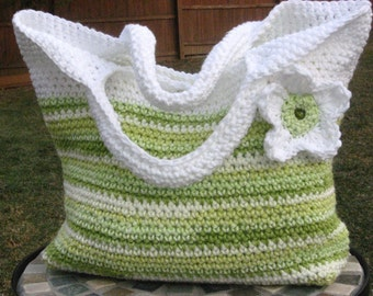 Spring Fling Bag, Crochet Pattern Pdf, Instant Pattern Download Available