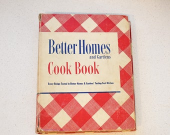 Better Homes and Gardens Cook Book - Revised Edition - Fourteenth Printing -1947