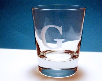 2  Old Fashioned Glasses - YOUR CHOICE