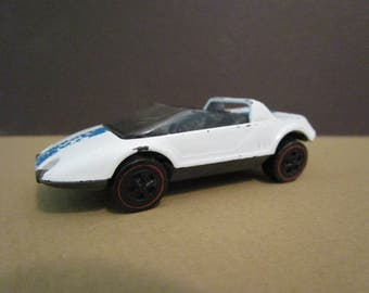 Vintage 1969, 'Hotwheels', 'Jack Rabbit' with redline tires!