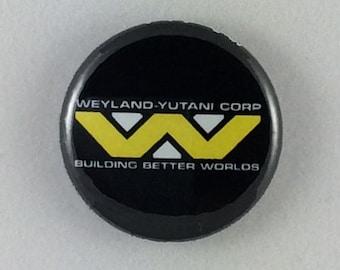 """1"""" Button - Weyland-Yutani"""