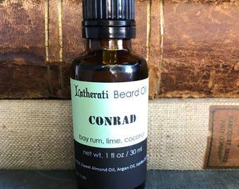 Conrad Beard Oil - bay rum, lime, coconut