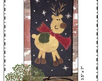 Blitzen Mini Quilt Kit by Front Porch Quilts