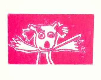 Pink Koala
