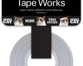 Grumpy Cat Tape Works • Grumpy Cat Decorative Tape • Triangles Washi Tape (SC9664)