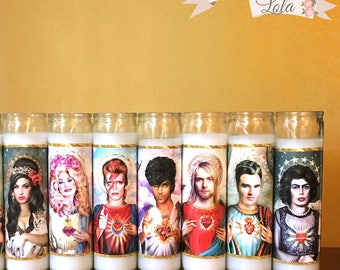 Parody - Prayer Candle - Dirty Lola - Saint Dolly - Fan Art - Parody