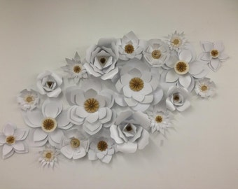 Large Paper Flowers Paper flower backdrop Coupon Code- Only to explain how to use your code in my shop- 3% off discount October halloween