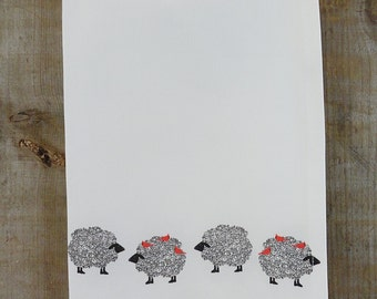 Curly Sheep Tea Towel-Best Seller**