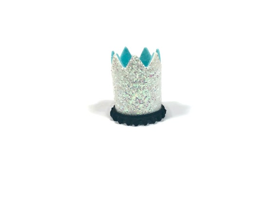SALE||  Dog Hat || Kitty Cat Birthday Crown || Animal Crown || Animal Party || Birthday Party Photo Prop || Pale Gold Glitter