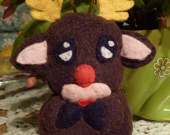 Tubby the little reindeer Christmas decoration